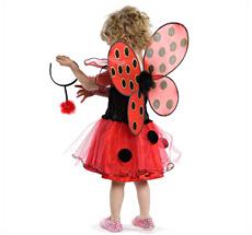 Kostüm Marienkäferkleid