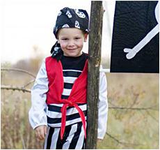 Kostüm Piratenset mit Hose •