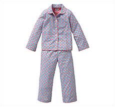 Room Seven Schlafanzug Nino/Dots Blau/Rot 116