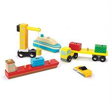 Le Toy Van Hafen-Set •