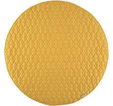 Nobodinoz Teppich Kiowa 105X105 Farniente Yellow