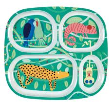 Petit Jour Paris Melamin Menüteller Dschungel