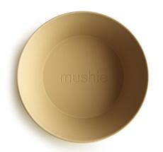 Mushie Schüssel Rund Mustard