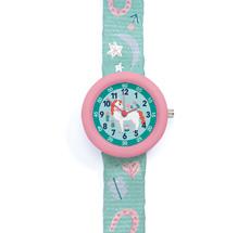 Djeco Armbanduhr Pferd