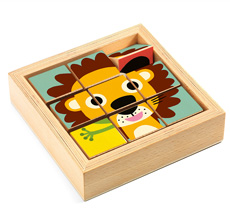 Djeco Holz Puzzle Touranimo