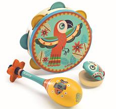 Djeco Animambo Instrumenten-3er-Set