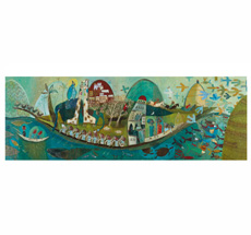 Djeco Puzzles Gallery Poetic Boat - 350 Teile