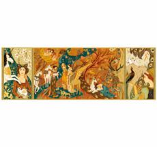 Djeco Puzzles Gallery Unicorn Garden - 500 Teile