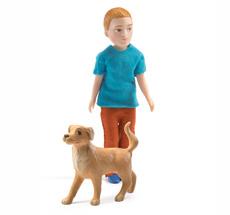 Djeco Puppenhaus Figur Xavier