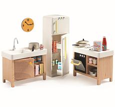 Djeco Puppenhaus Einrichtung Küche