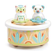 Djeco Musik Box Baby White