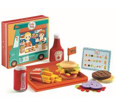 Djeco Holz-Burger Ricky & Daisy •