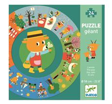 Djeco Bodenpuzzle Das Jahr