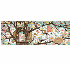 Djeco Puzzle Gallerie Tree house - 200 Teile