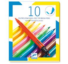 Djeco Filzpinsel - 10 Pop Colours