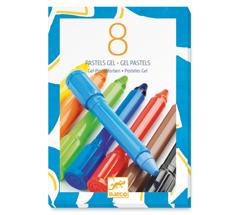 Djeco Pastellkreide klassische Farben 8er-Set •
