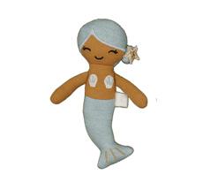 Fabelab Püppchen Pocket Friend Mermaid Blue Bio-Baumwolle
