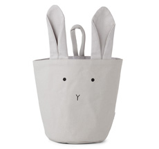 LIEWOOD Stoff-Korb Ib Rabbit Dumbo Grey