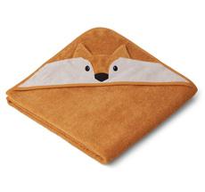 LIEWOOD Kapuzenhandtuch Augusta Fox Mustard