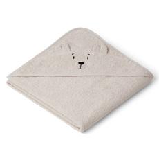 LIEWOOD Kapuzenhandtuch Augusta Polar Bear Sandy