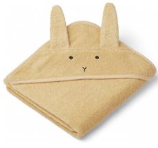 LIEWOOD Kapuzenhandtuch Albert Rabbit Smoothie Yellow