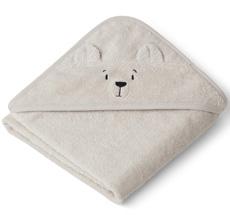 LIEWOOD Kapuzenhandtuch Albert Polar Bear Sandy