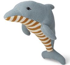 LIEWOOD Kuscheltier Diver Dolphin Sea Blue