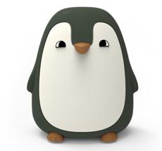 LIEWOOD Nachtlicht Ditlev Penguin Hunter Green
