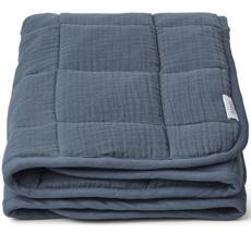 LIEWOOD Decke Quilt Mette Blue Wave