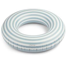 LIEWOOD Schwimmring Donna Stripe Sea Blue/Creme de la Creme