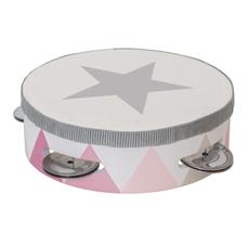 JaBaDaBaDo Tamburin Trommel Pink