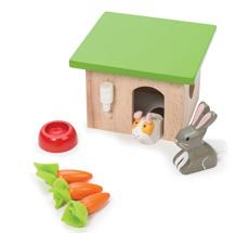 Le Toy Van Puppenhaus-Zubehör Häschen & Meerschweinchen