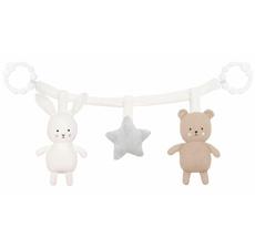 JaBaDaBaDo Kinderwagenkette Teddy und Hase