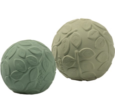 Natruba Sensorischer Ball Leaf Green 2er-Set