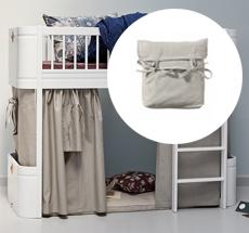 Oliver Furniture Halbhohes Hochbett Wood Mini Weiss Online Kaufen