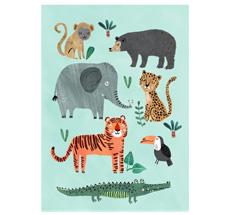 Petit Monkey Poster Wilde Tiere