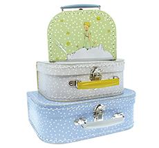Petit Jour Paris Koffer-Set Der Kleine Prinz 3er-Set
