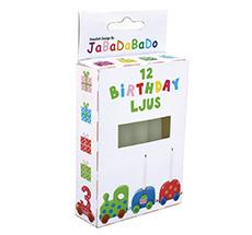 JaBaDaBaDo Kerzen für Geburtstagszug