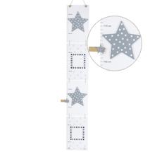 JaBaDaBaDo Messlatte Sterne Grau