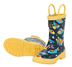 Hatley Kinder Gummistiefel Space Cars Of The Future