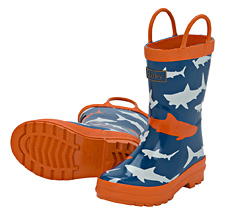Hatley Kinder Gummistiefel Lots Of Sharks