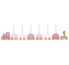 JaBaDaBaDo Geburtstagskerzenhalter Pink