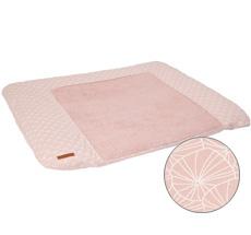 Little Dutch Wickelauflagenbezug Lily Leaves Pink 75 x 85 cm