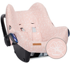 Little Dutch Babyschalen-Bezug Wild Flowers Pink