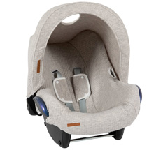 Little Dutch Babyschalen-Verdeck Pure Grey