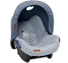 Little Dutch Babyschalen-Verdeck Pure Blue