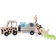 JaBaDaBaDo Jeep mit Safaritieren
