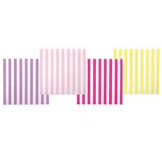 JaBaDaBaDo Papierservietten Streifen Pink