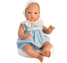 Asi Dolls Puppe Koke Blauer Romper