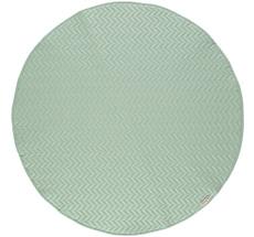 Nobodinoz Teppich Kiowa 105X105 Provence Green